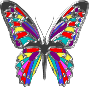 GraphicsByLiz_StainedGlassButterfly_July2008