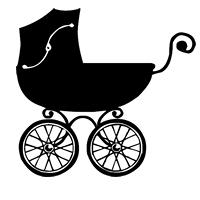 GraphicsByLiz_BabyDayz_BabyCarriage_July2008