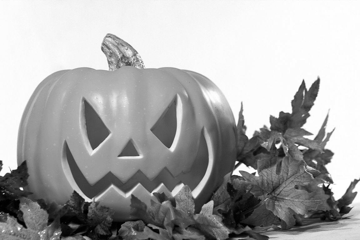 GraphicsByLiz_HalloweenPumpkinWithLeaves_Aug2008