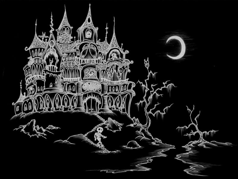 GraphicsByLiz_HauntedHouseHalloween_Aug2008